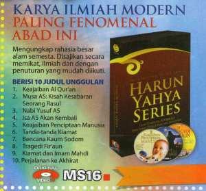 VCD Karya Ilmiah Modern Paling Fenomenal Abad Ini, MS16
